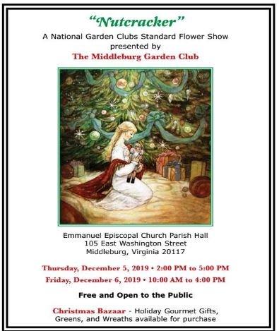 Middleburg Garden Club Flower Show, Greens Sale