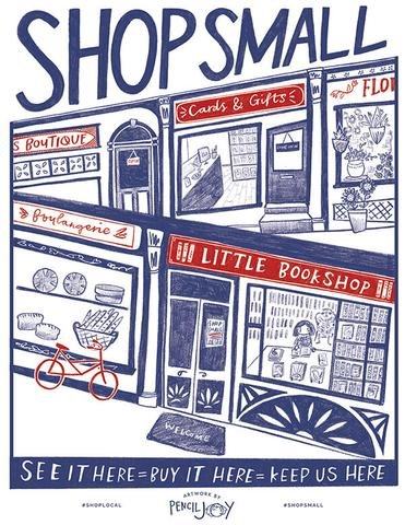 Shop Small flyer