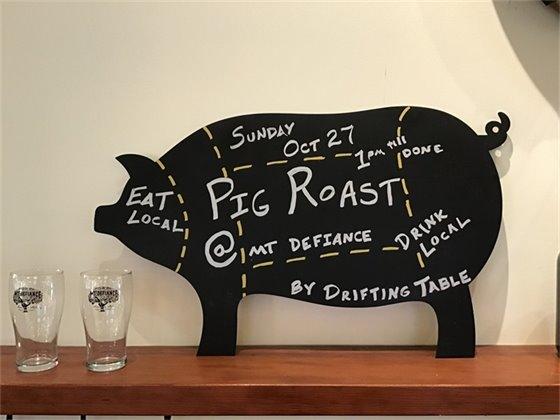 Mt Defiance Pig Roast