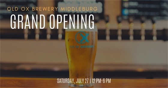 Old Ox Brewery Grand Opening