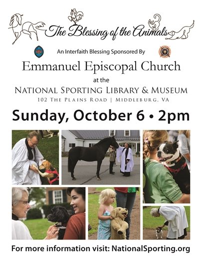 Emmanual Episcopal Church Blessing of the Animals
