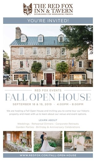 Red Fox Fall Open House
