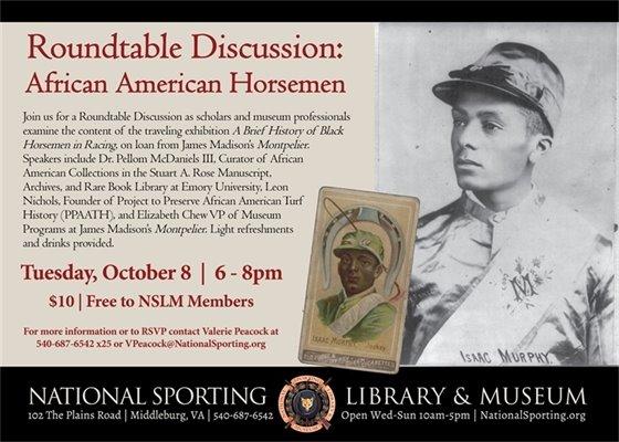 NSLM, African American Horsemen