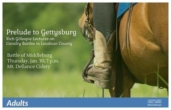 Middleburg Library, Battle of Middleburg flyer