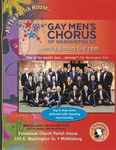 Emmanuel Church, Gay Men's Chorus