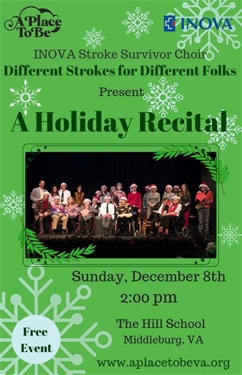 A Place to Be, Stroke, Recital