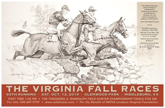 VA Fall Races poster