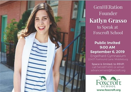 Foxcroft, GenHeration flyer