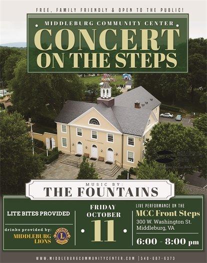 Middleburg Community Center, Oct Concerts