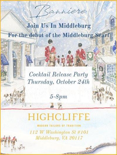 Highcliffe , Middleburg Scarf