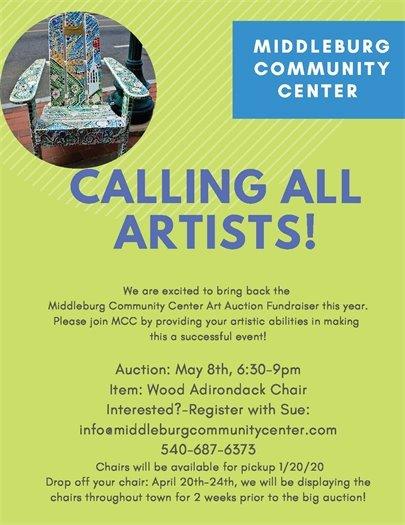 Community Center, Art Auction