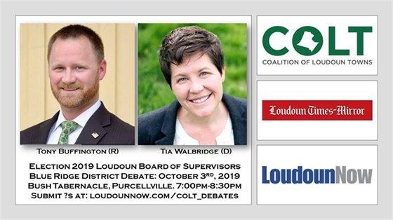 Blue Ridge District debate