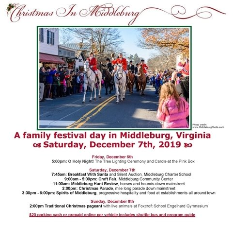 Christmas in Middleburg