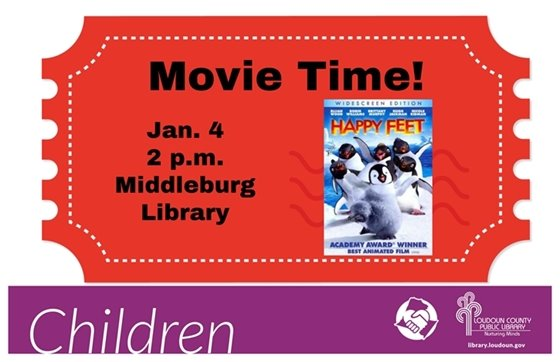 Middleburg Library, Happy Feet Flyer