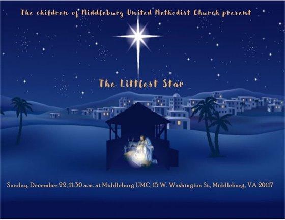 Middleburg United Methodist Church, Littlest Star
