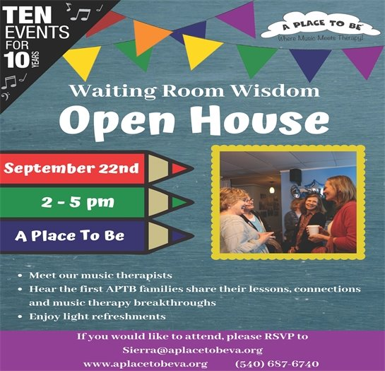 A Place To Be, Open House