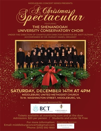 Middleburg United Methodist Church, Christmas Spectacular