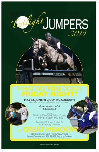 Twilight Jumpers flyer