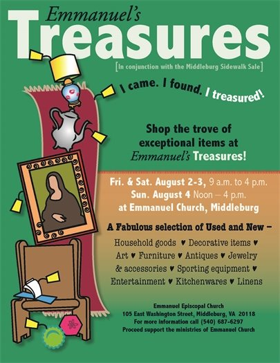 Emmanuel's Treasurers flyer