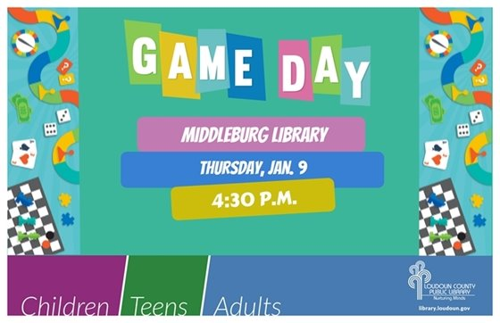 Middleburg Library, Game Day