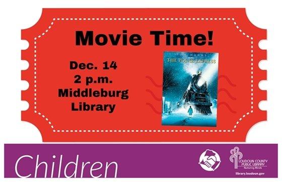 Middleburg Library, Polar Express Movie