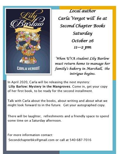 Second Chapter Books, Carla Vergot
